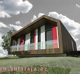 Dřevěný dům 2010
